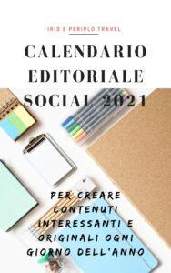 Calendario editoriale social 2021 | Feedelissimo Turismo
